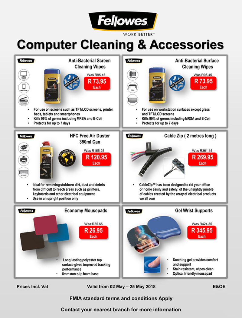 fellowes clean may