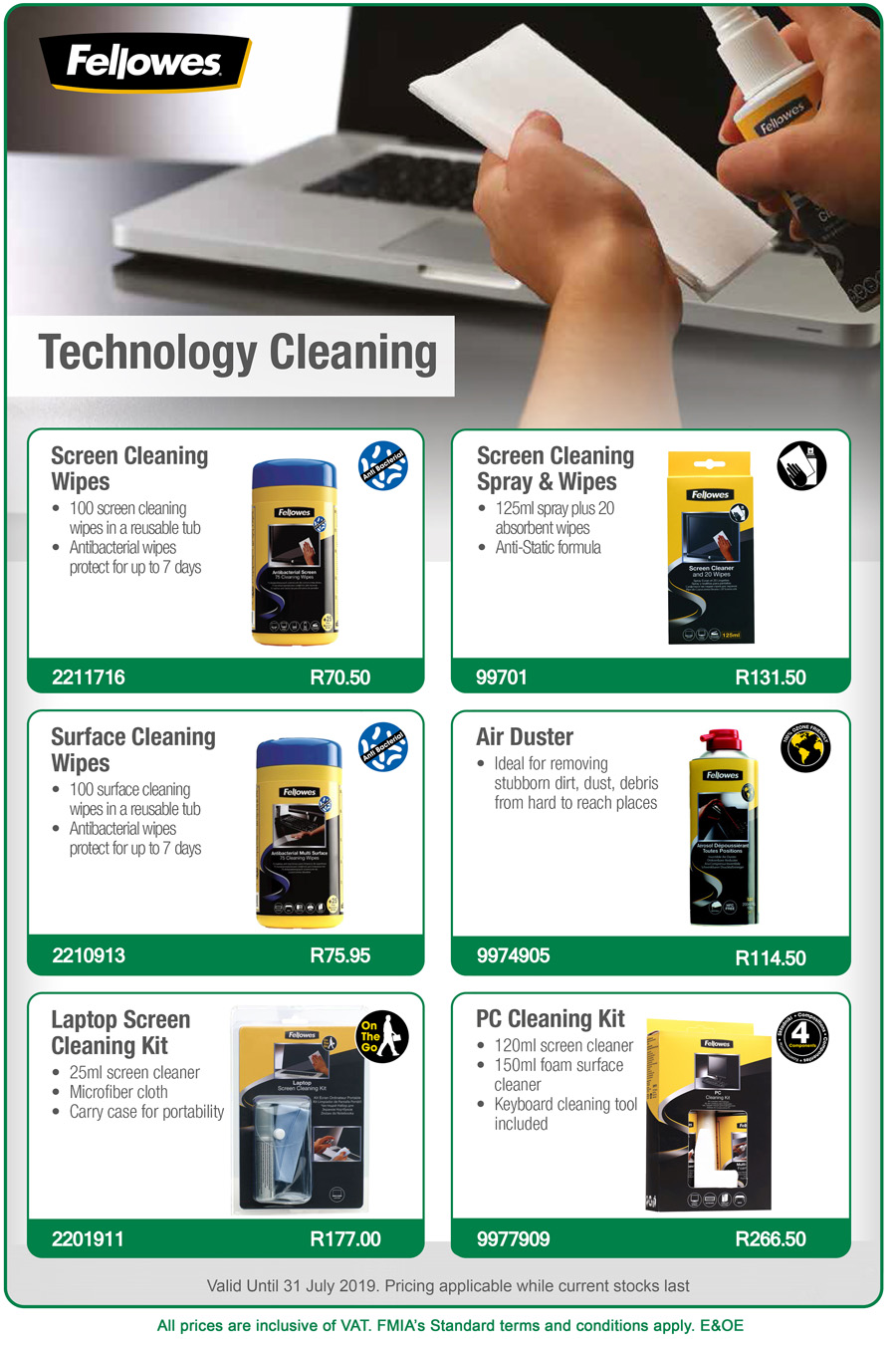 Technology Cleaning Promotion Web
