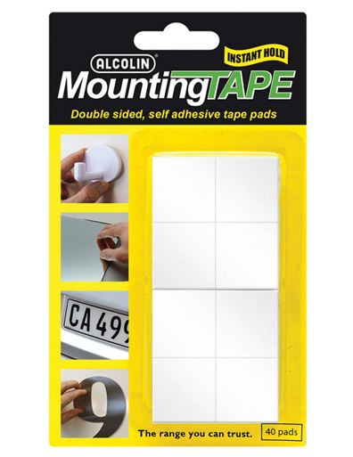 alcolin mounting tape pads