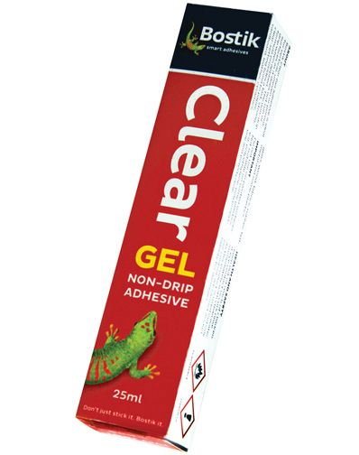 bostik clear gel adhesive