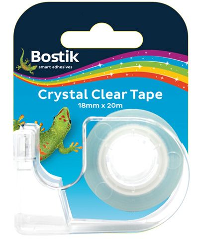bostik crystal clear tape dispenser