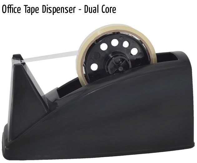 office tape dispenser dual core