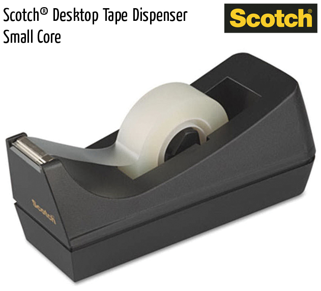 scotch desktop tape dispenser small core