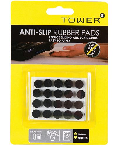 tower anti slip rubber pads