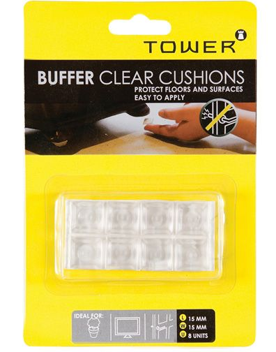 tower buffer clear cushions