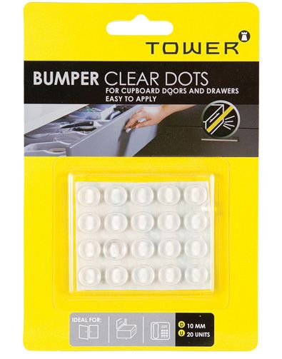 tower bumper clear dots
