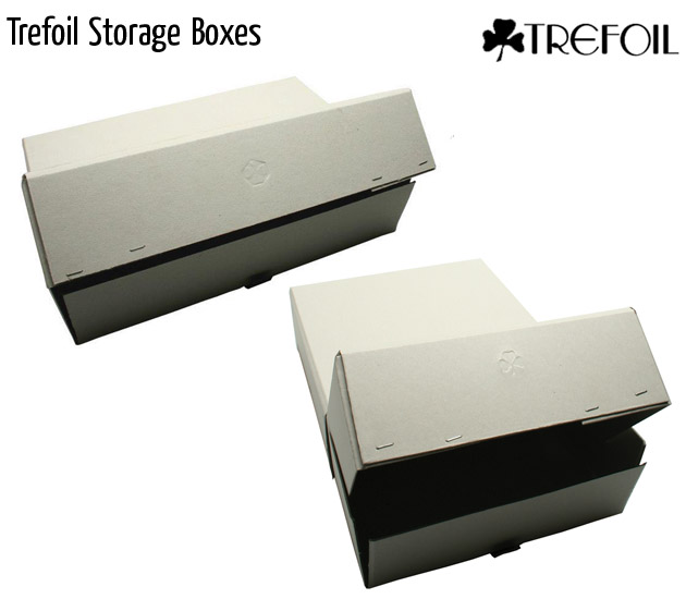 trefoil storage boxes