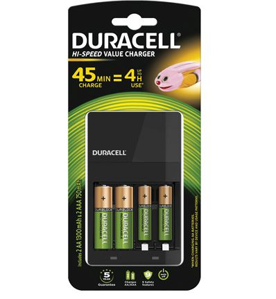 duracell cef14 charger