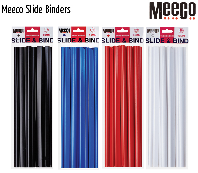 meeco slide binders
