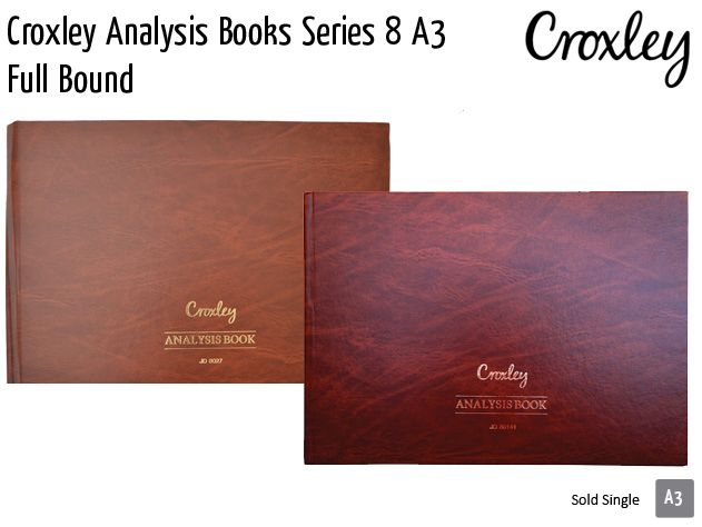 croxley analysis books series 8 a3