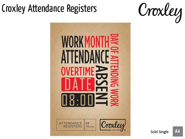croxley attendance registers