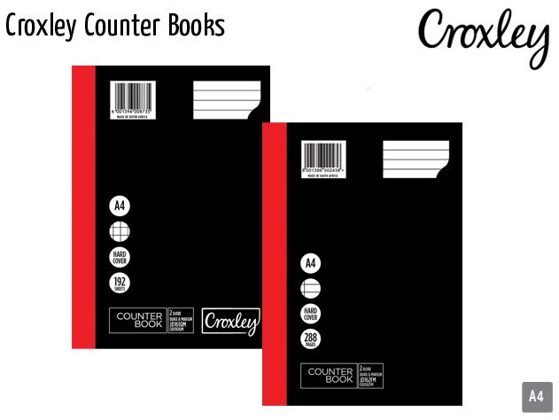 croxley counter books