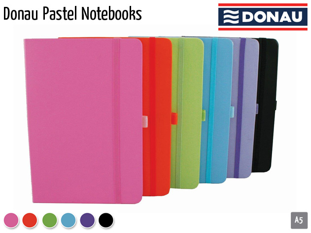 donau pastel notebooks
