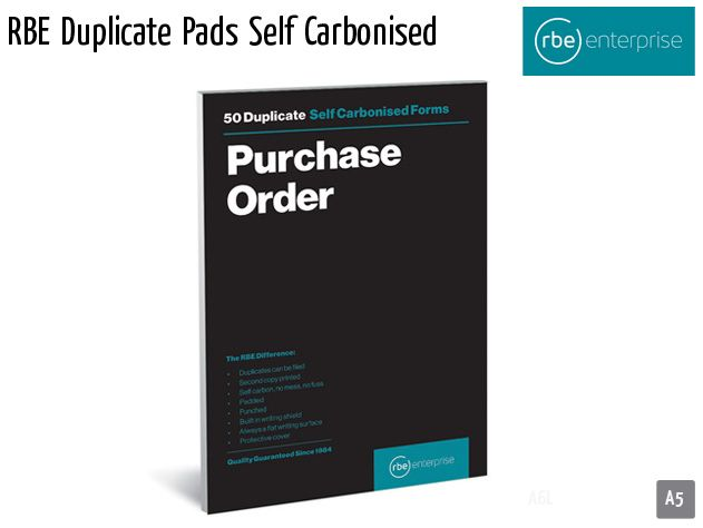 rbe duplicate pads self carbonised