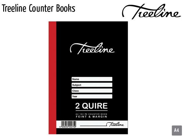 treeline counter books