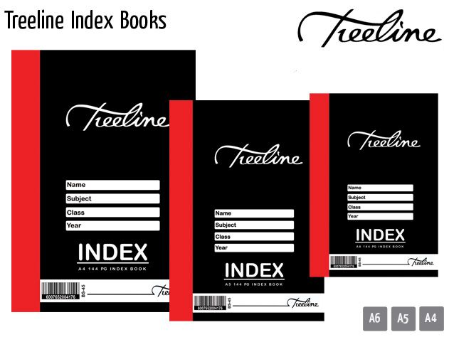 treeline index books