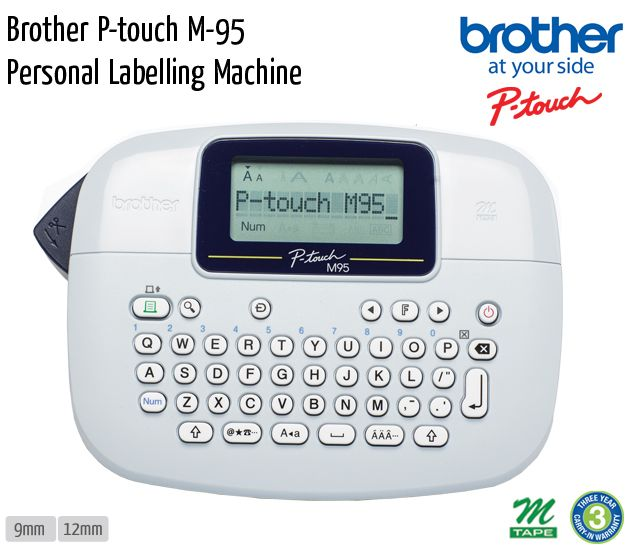 brother p touch m 95