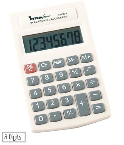 interstat ch 903 palm calculator