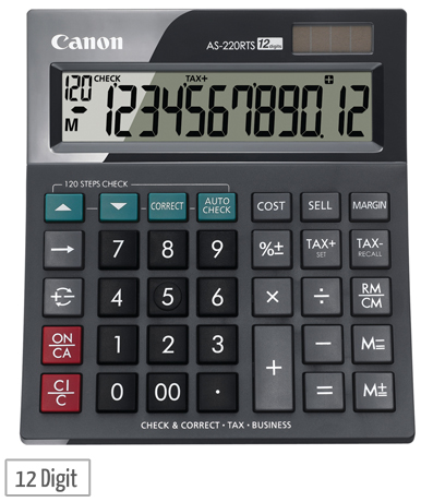 as 220rts desktop calculator
