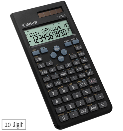canon f 715sg scientific calculator