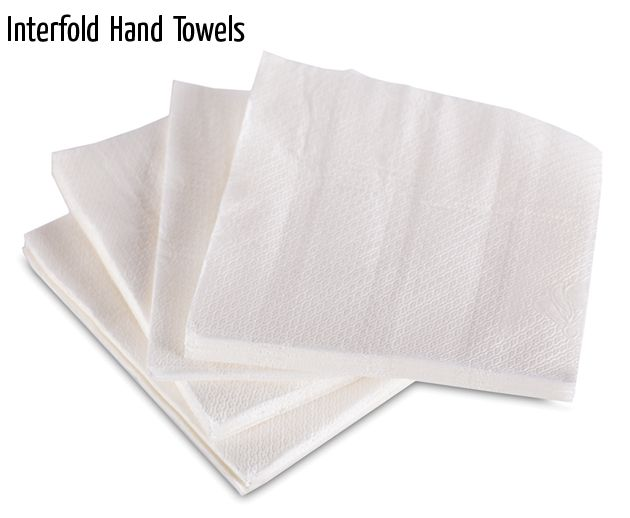 interfold hand towels