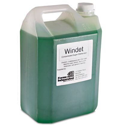 windet concentrated super dishwashing liquid