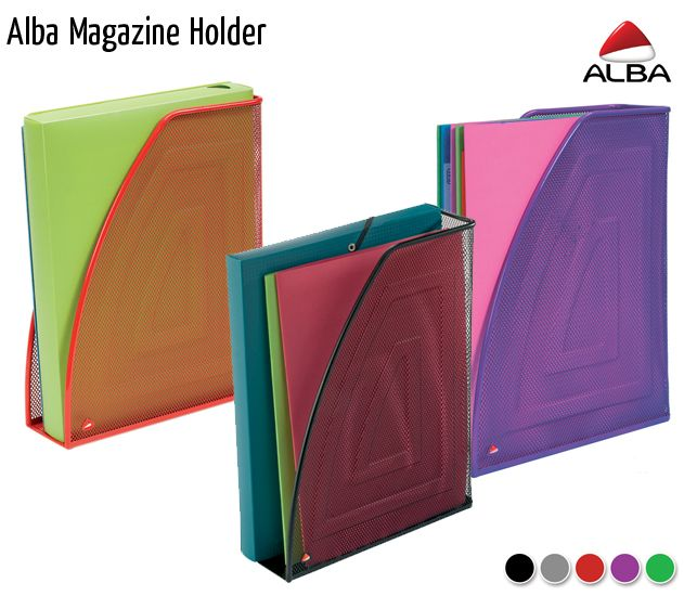 alba magazine holder