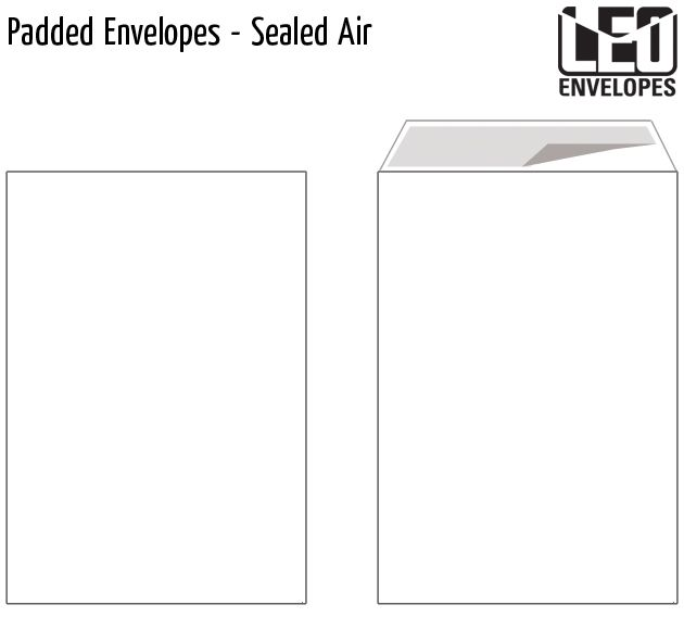 padded envelopes sealed air