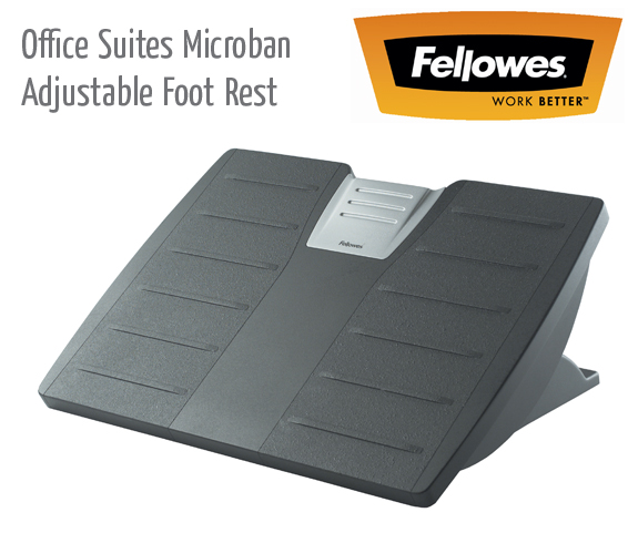 Microban Adjustable Foot Rest