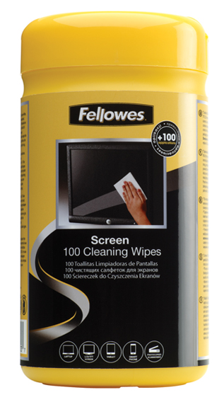 100 screen cleaning wipes