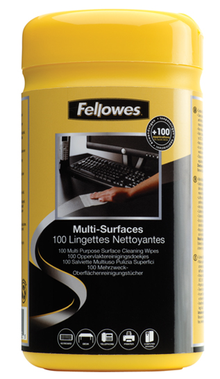 100 surface cleaning wipes