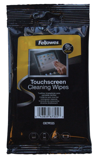 20 touch screen cleaning wipes
