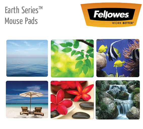 earth series mouse pads