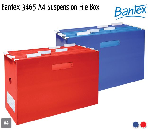 bantex 3465 a4 suspension file box