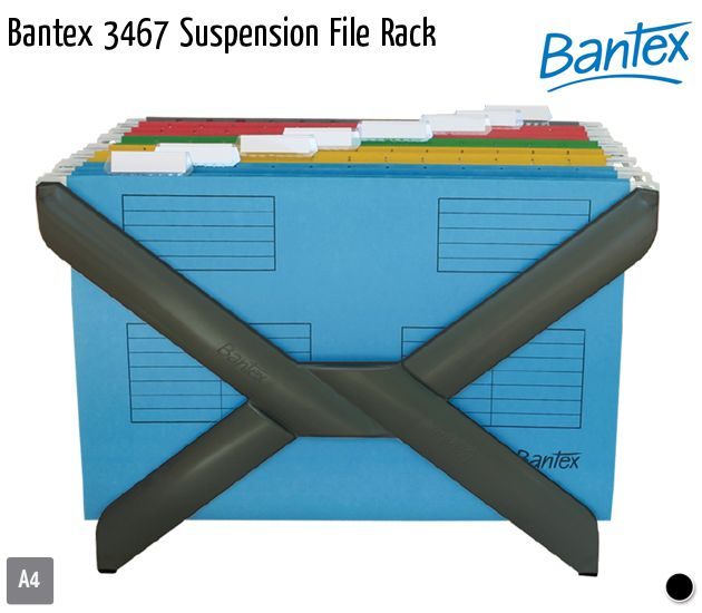 bantex 3467 suspension file rack