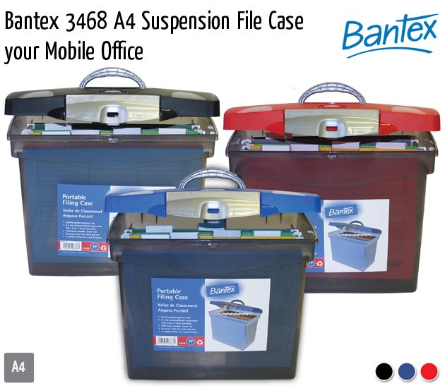 bantex 3468 a4 suspension file case