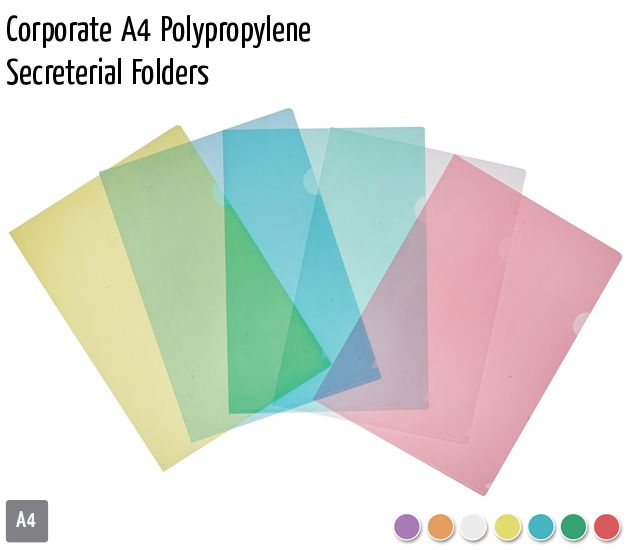 corporate a4 polypropylene