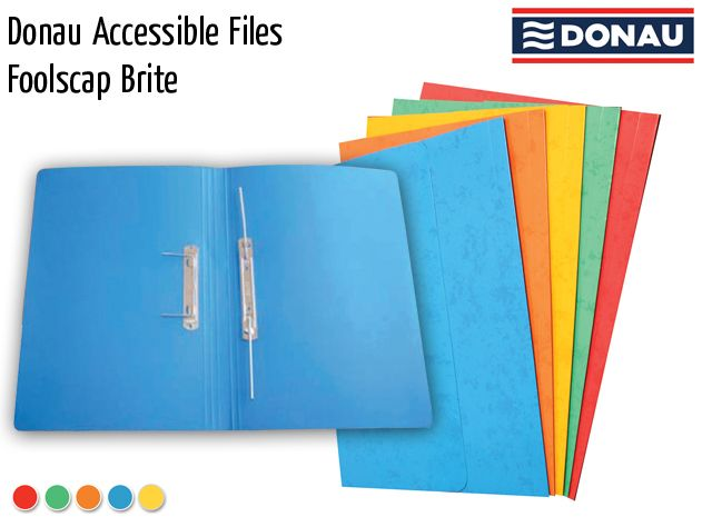donau accessible files foolscap brite