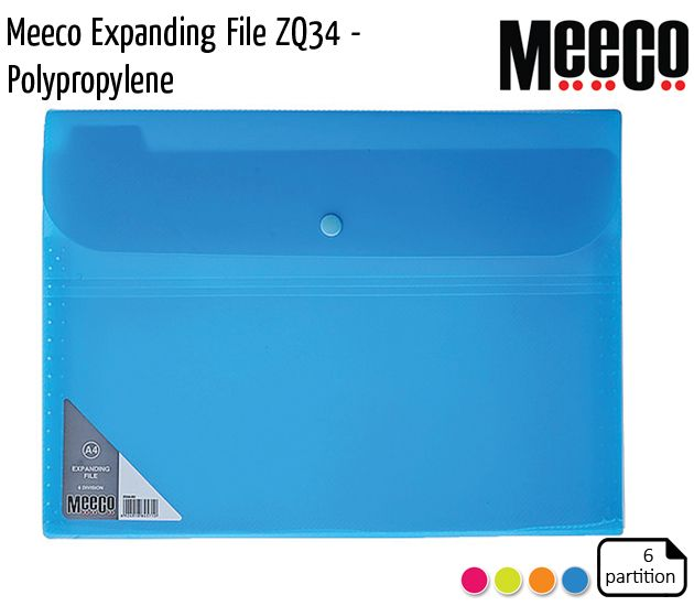 meeco expanding file zq34