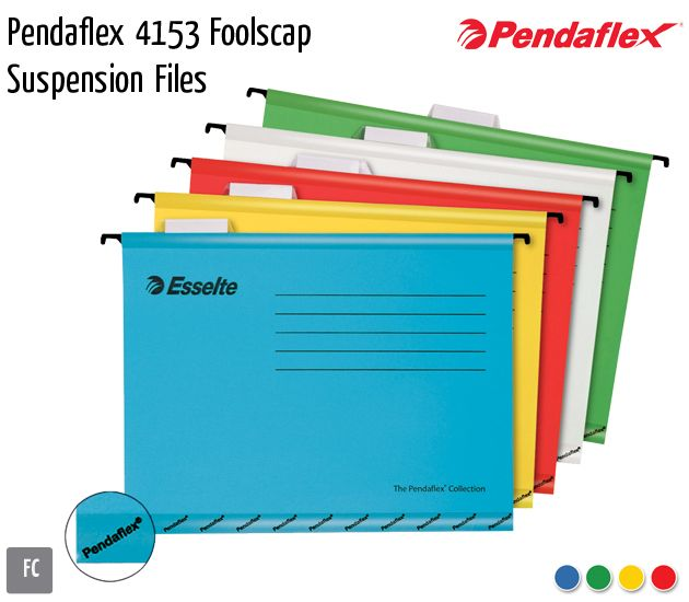 pendaflex 4153 foolscap suspension files