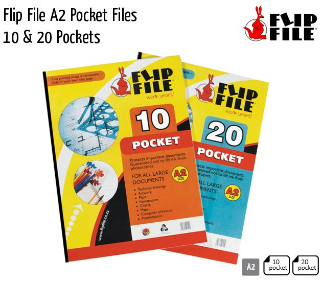 flip file a2 pocket files