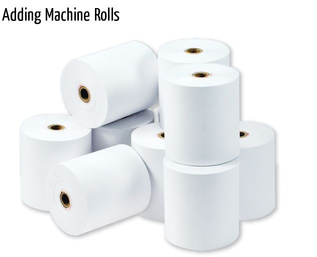 adding machine rolls