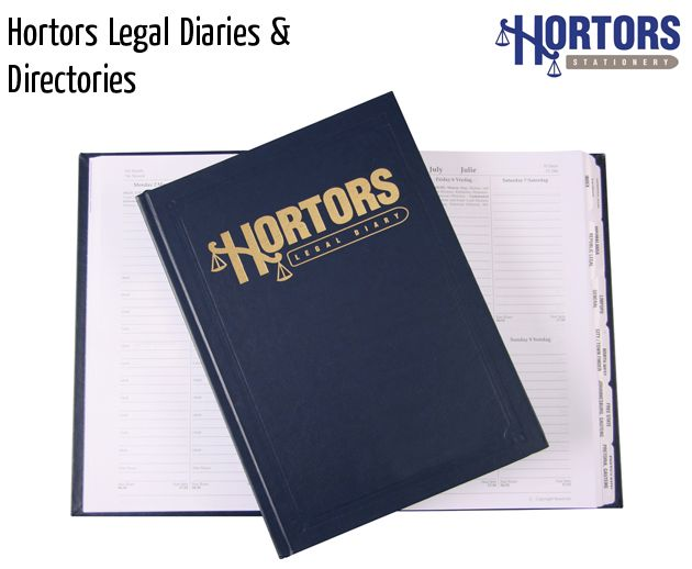 hortors legal diaries and directories