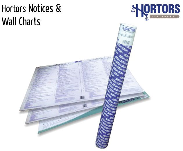 hortors notices and wall charts