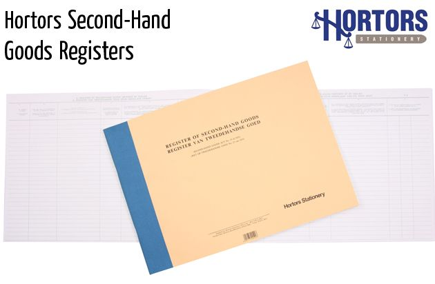 hortors second hand good registers