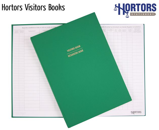 hortors visitors books
