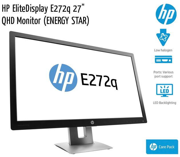 hp elitedisplay e272q 27 inch