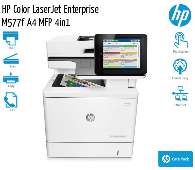 hp color laserjet enterprise m577f a4 mfp 4in1