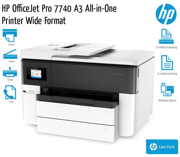 hp officejet pro 7740 a3 all in one printer