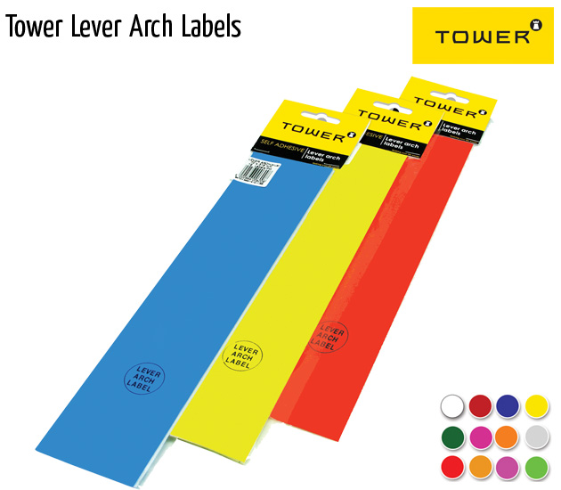 tower lever arch labels